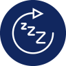 réduit le temps d'endormissement